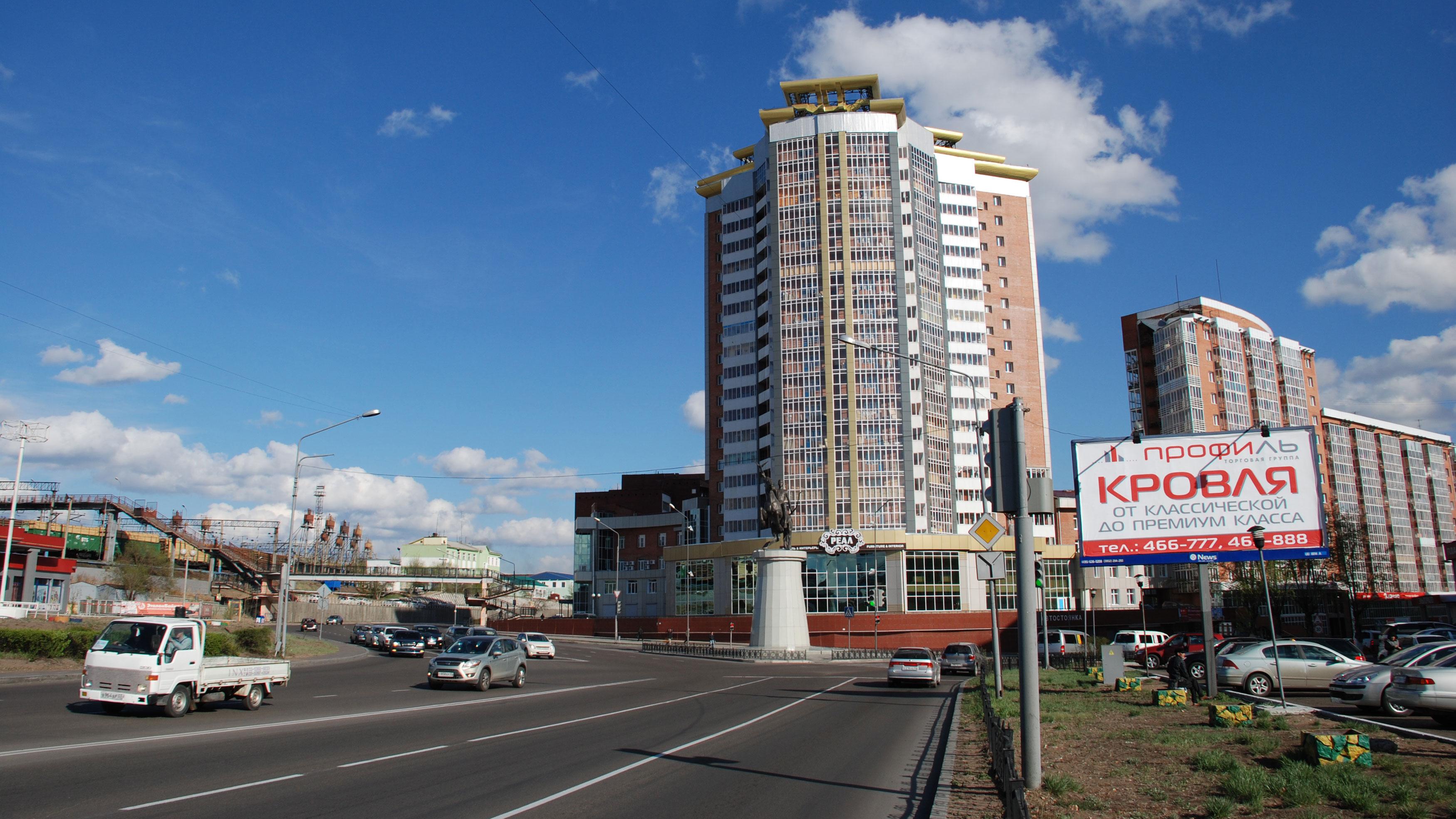 Улан фото города новые дома