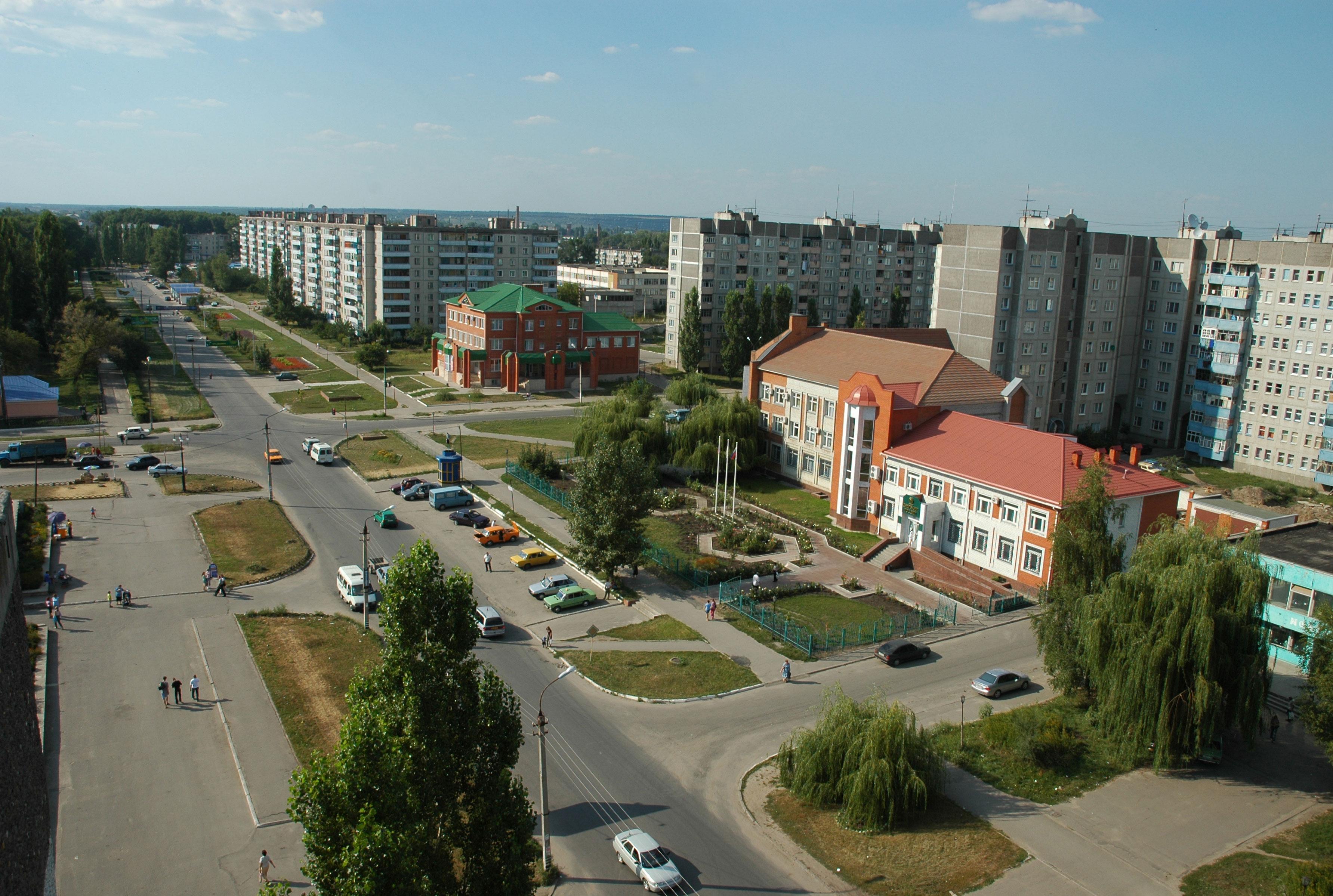 Россошь воронежская область фото города